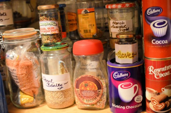 Assorted pulses and cocoa