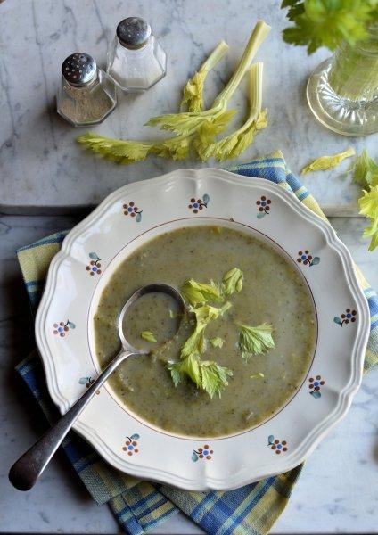 Celery and Leek Soup