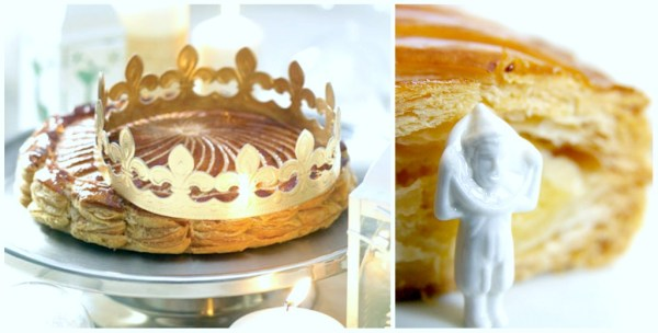 Commercially baked Galettes des Rois