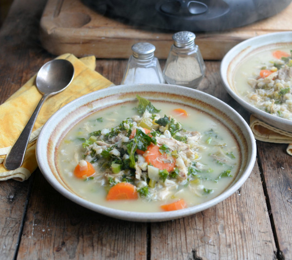 Turkey and Kale Scotch Broth