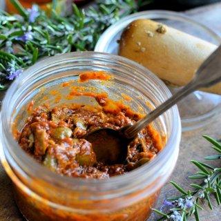 The Secret Recipe Club: Sun-Dried Tomato and Olive Tapenade Recipe