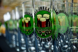 Get Ready for St Patrick's Day! Irish Craft Beer and Food Market in Dublin