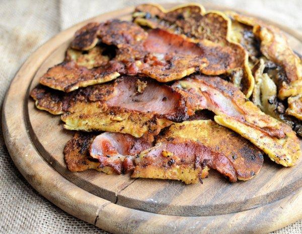 Bacon and Banana Pancake Strips