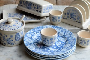 Giveaway: Win ONE of FOUR Churchill China Penzance Breakfast Sets (RRP:£84)