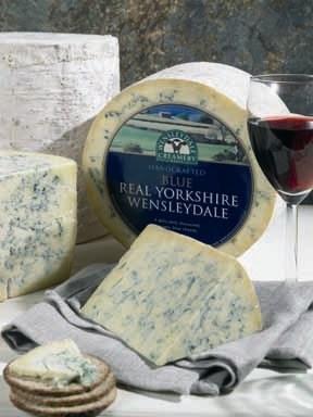 Wensleydale Blue Cheese Image: