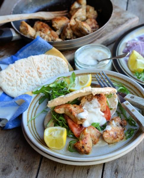 Cajun Chicken Kebab and Spiced Yoghurt Dip: Celebrate Yoghurt Week: Create & Style a Yoghurt Recipe to win £1,000!