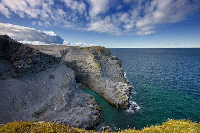 The Newfoundland coastline, in all its rugged beauty