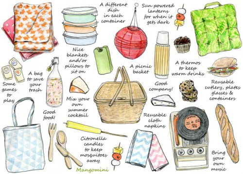 What to take on a picnic