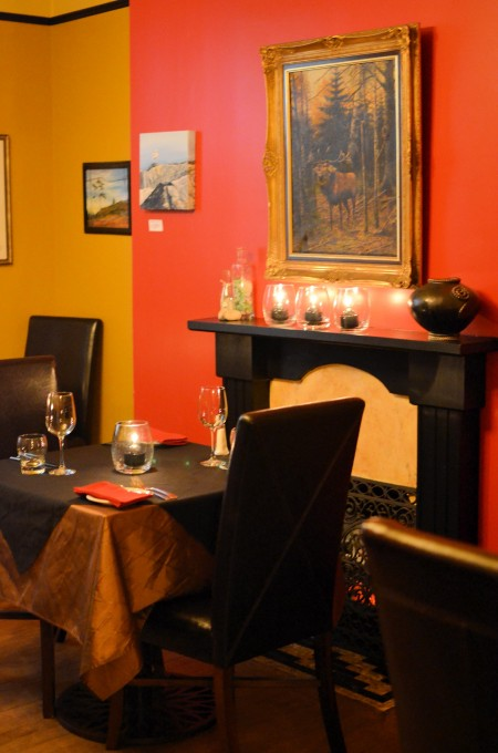 One of Bacalao's Intimate Individual Dining Rooms