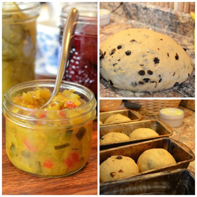 Pickles and Raisin Bread