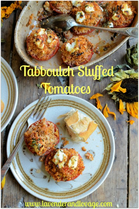 An Easy Midweek Summer Recipe: Tabbouleh Stuffed Tomatoes