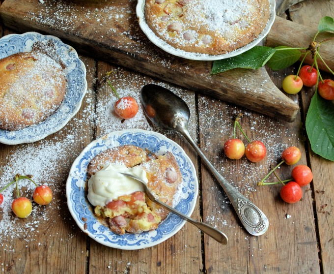 Cherries & Cooking in Saucers: Kentish Cherry Batter Pudding