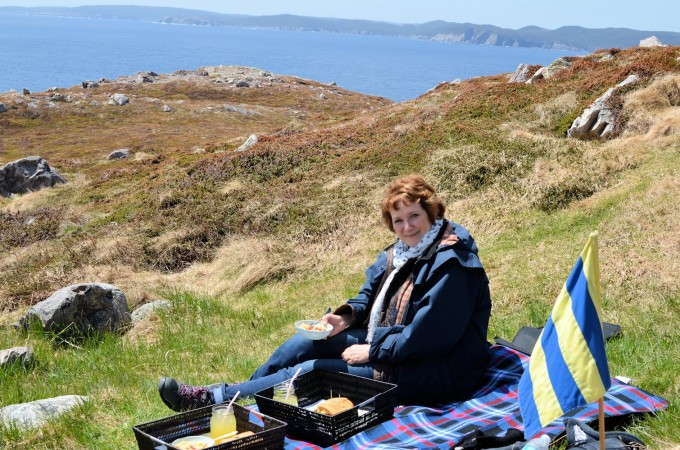 Karen Lavender and Lovage Ferryland Lighthouse Picnics