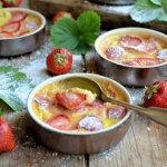 Strawberry Clafoutis