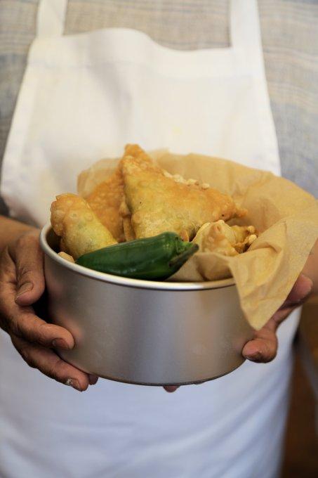 Rekha's samosas