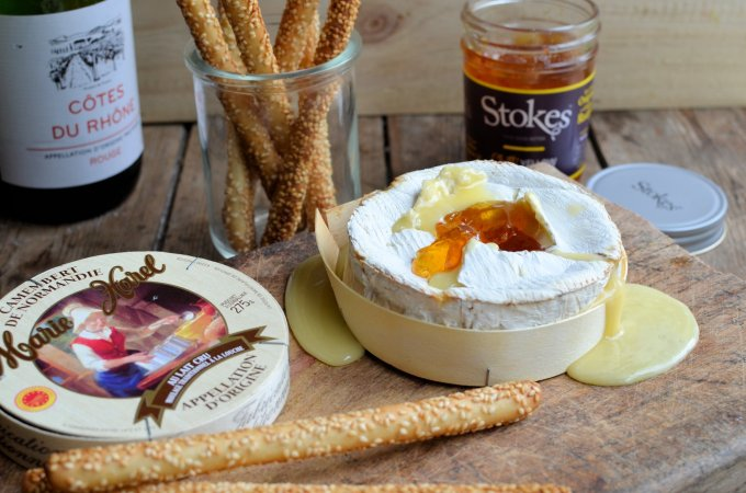 Baked Camembert in a Box