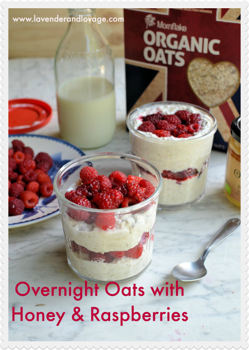 Recipe: Overnight Oats with Honey & Raspberries + Mornflake Hamper Giveaway