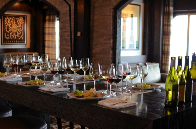 Wine Tasting on Celebrity Equinox