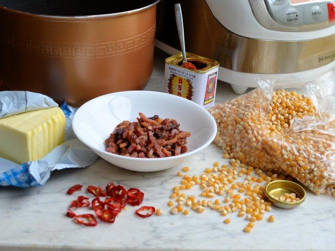 Bacon Chilli Popcorn