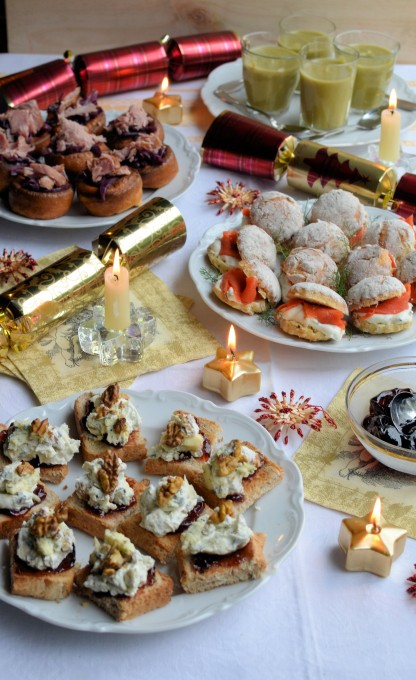 December Organic Party Food