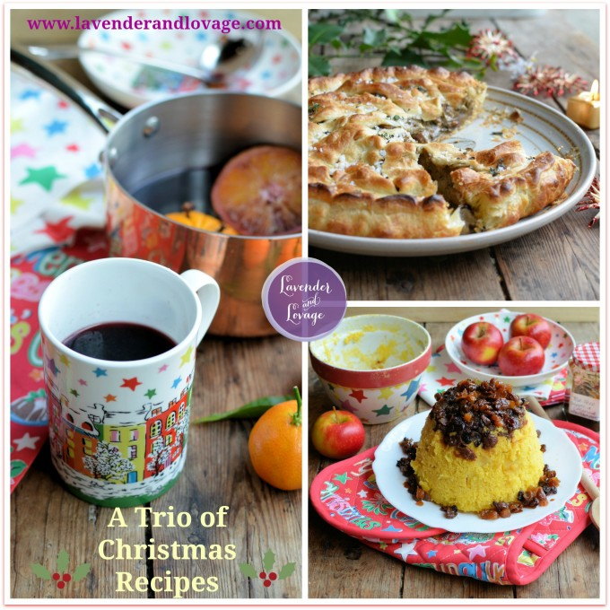 A Trio of Christmas Recipes: Vegan Pithivier Pie, Mincemeat Pudding & Mulled Wine