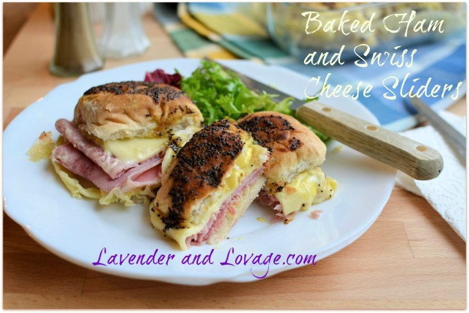 A Secret Breakfast Recipe: Baked Ham and Swiss Cheese Sliders
