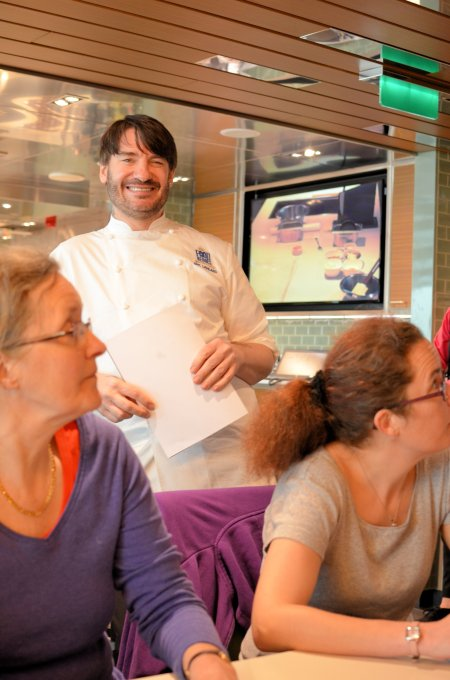 A Master Class with Eric Lanlard: Cooking and Dining on the High Seas