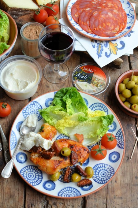 Fall in Love with Iberia: Spanish Chorizo Chicken with Olives Recipe with Lidl
