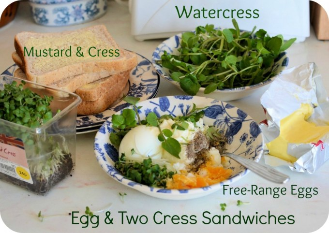 Egg and Two Cress Sandwich Recipe