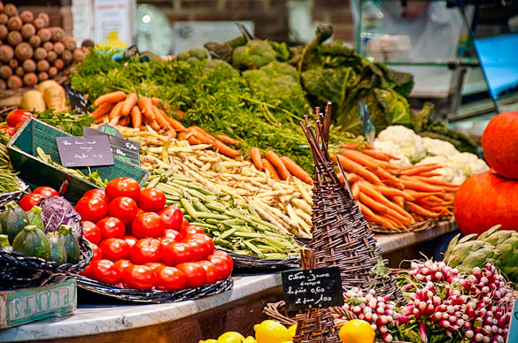Montpellier Market in South France