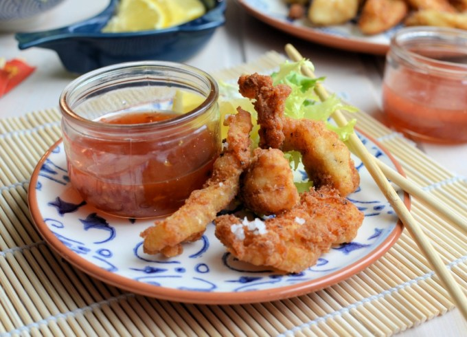 Salt and Pepper Tempura Fish Goujons