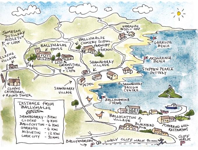Ballymaloe Map Area