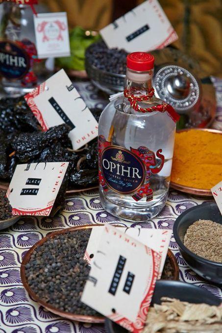 OPIHR ORIENTAL SPICED GIN.