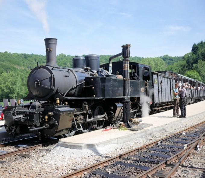 Ardeche Steam Train