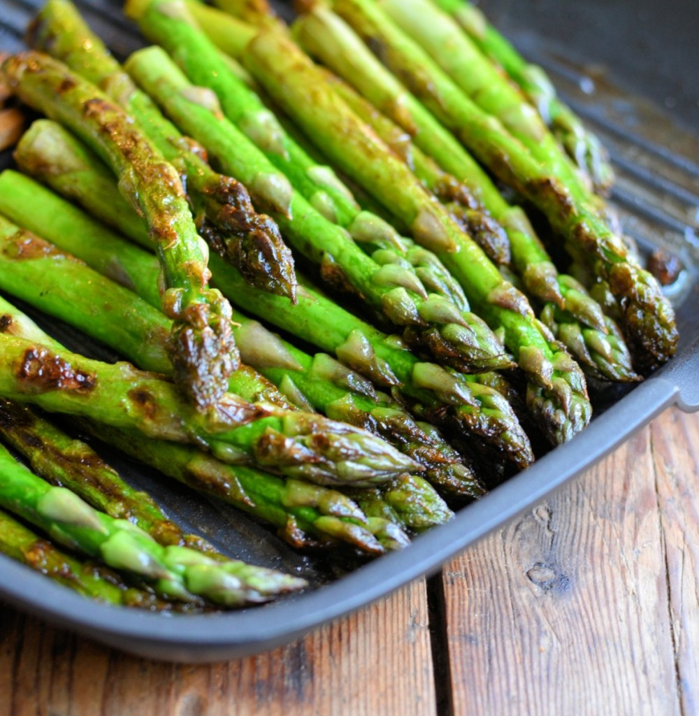 Butter Griddled Asparagus