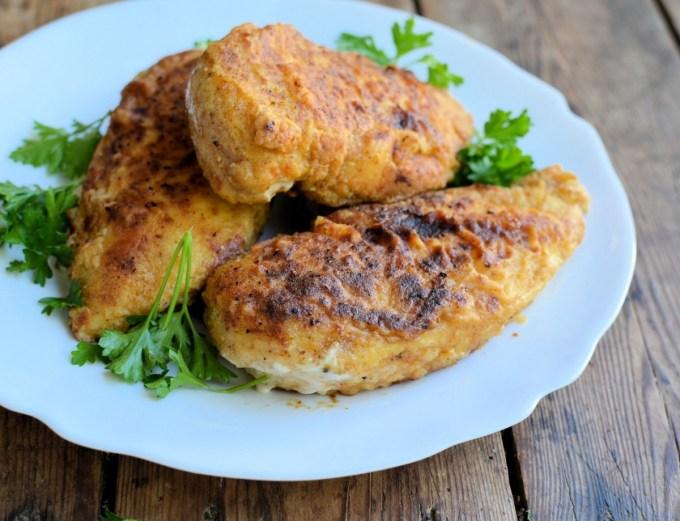"""A Secret Recipe: Low-Fat """"KFC"""" Oven Fried Chicken"""