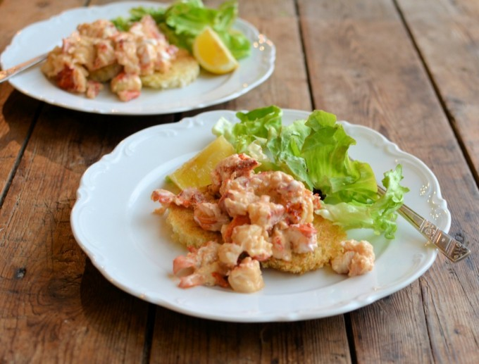 Lobster Newberg with Fresh Scottish Lobster