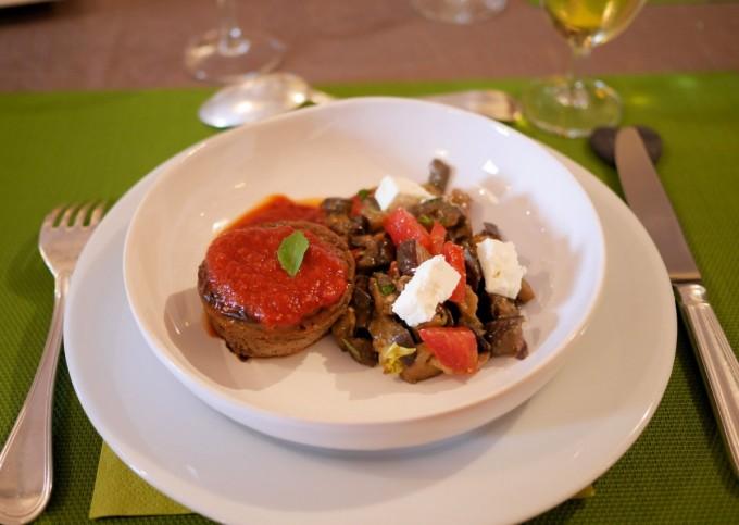 Dinner at Domaine des Clos