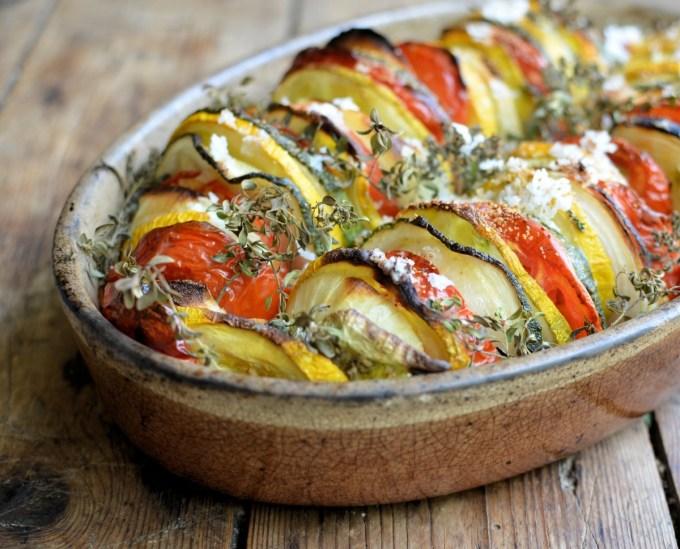 Tian provençal (Summer Vegetable Bake)