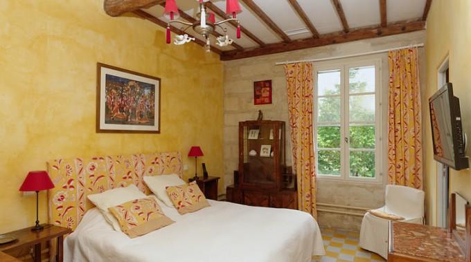 Chambre Jaune Domaine des Clos