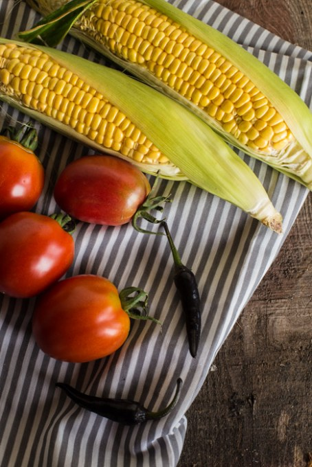 A Seasonal Condiment: Autumnal Corn Salsa