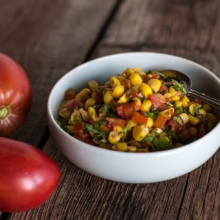 A Seasonal Condiment: Autumnal Corn Salsa