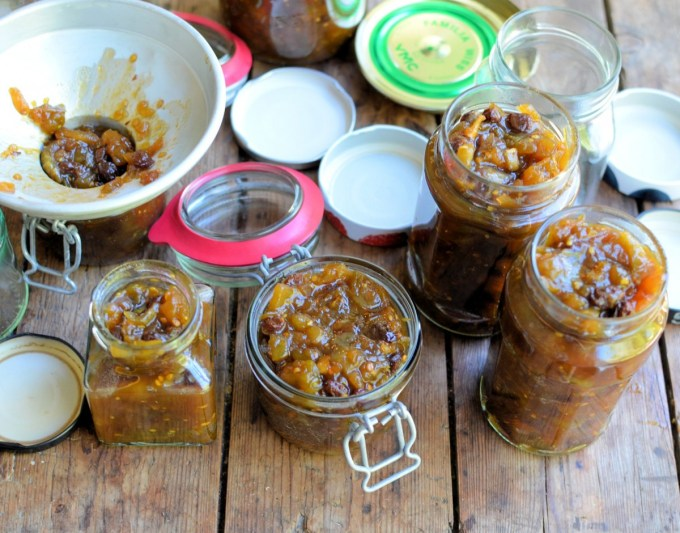 Shooting Party Chutney (Green Tomato Chutney)