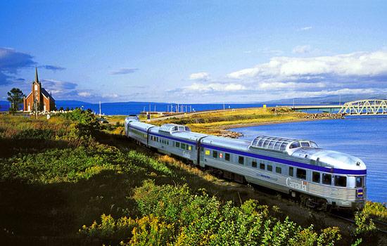The Canadian Via Rail