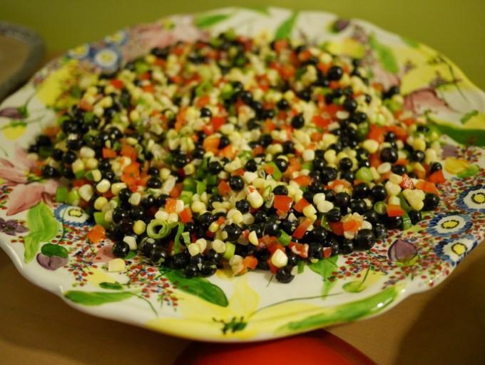 Anna's Corn Blueberry Toss