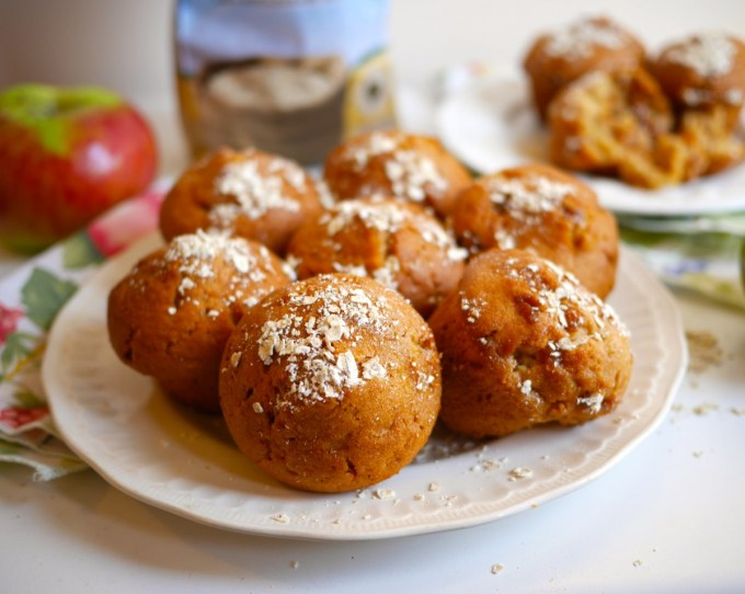 Apple and Oat Breakfast Muffins