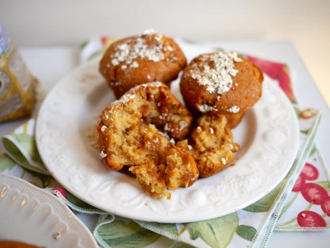 Apple & Oat Muffins