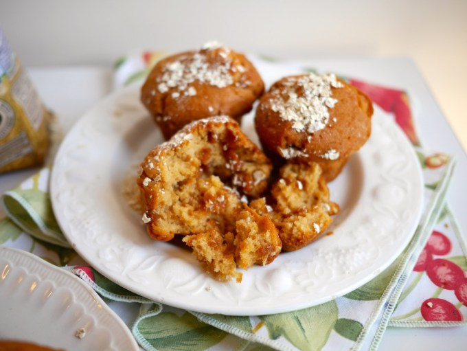 Apple & Oat Muffins