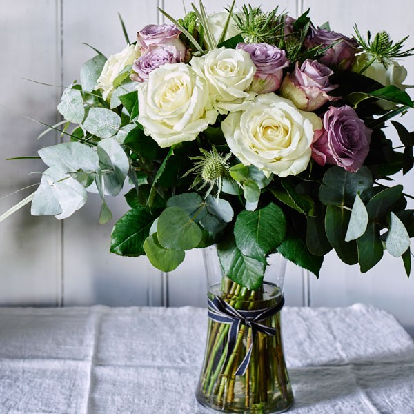 Booths Vintage Bouquet in Vase