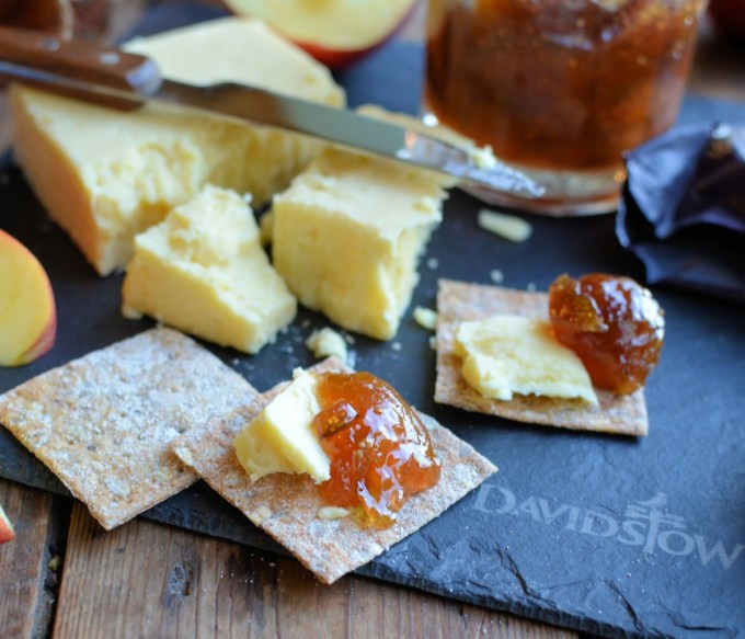 Davidstow 3 Year Reserve Special Vintage Cheddar cheese with Spiced Fig Jam